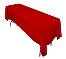Main Event Party Rental Columbia MD Rectangular Linen Table Cloths